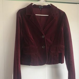 Wet Seal Jackets & Coats - Velvet blazer